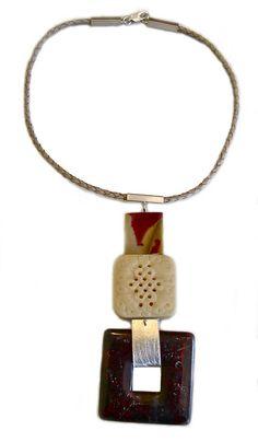 Natural stones necklace by Carla Amaro