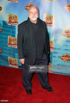 Actor Richard Riehle attends the red carpet premiere of 'Bullets Over Broadway' at the Pantages Theatre on January 5, 2016 in Hollywood, California.