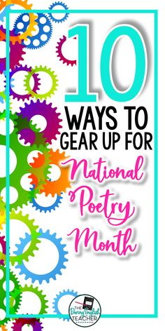 Ideas lessons and projects for teaching poetry in the middle school ELA or high school English classroom. Teaching Poetry, Teaching Writing, Teaching Ideas, Poetry Projects, English Classroom, Ela Classroom, Poetry Lessons, National Poetry Month, Middle School Ela