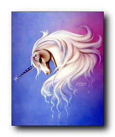 Mythical Lavender Mist Unicorn Sue Dawe Fantasy Home Decor Art Print Poster (16x20) Impact Posters Gallery http://www.amazon.com/dp/B009HNAD4O/ref=cm_sw_r_pi_dp_Ibciub1554CSN