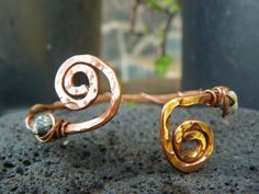 Recycled Copper Arm Cuff