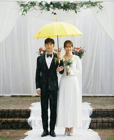 Tomorrow with you drama wedding Shin Min Ah Tomorrow With You, Korean Drama Movies, Korean Dramas, Best Kdrama, Korean Wedding, Hallyu Star, Star Wedding, Drama Korea, Drama Film