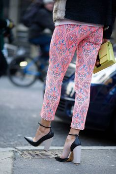 MONICA CHIANG HEELS The 50 Best Shoes of Fashion Month Street Style - The Cut
