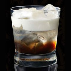 I love putting Kahlua, vanilla vodka (cut open a few vanilla beans, put them in vodka, wait a few days, swoon when you open the lid and smell the amazing vodka), and a splash of cream in a pretty glass. I like it cause it all the densities swirl around. Also, use real Kahlua, not the store brand.