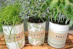 loveshack chic: DIY || mother's day indoor herb garden