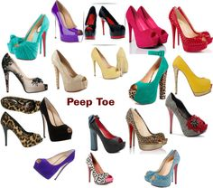 """""""Peep Toe"""" by sil-engler on Polyvore"""