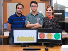 MIT gizmo peeps at your heart's desires with wireless signals     - CNET  From left: Ph.D. students Fadel Adib and Mingmin Zhao and Professor Dina Katabi of MITs Computer Science and Artificial Intelligence Lab do their emoji impression.                                             Jason Dorfman/MIT CSAIL                                          A gadget that could read your emotions from a distance? How would that make you feel? Someday we might not have to wait for your answer.  Researchers…