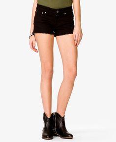 Black Denim Shorts by Forever 21. Buy for $12 from Forever 21