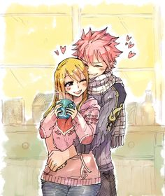 sketchy ✖ flavor, winter morning for cuddles Cute NaLu