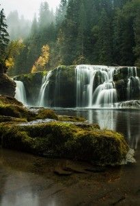 Lewis River Falls, Washington State  | My Lovely Images