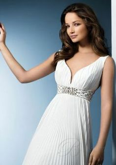 Princess Wedding Gowns Style Empire Waist With Sash Off-the-Shoulder Sweep Train WD09036