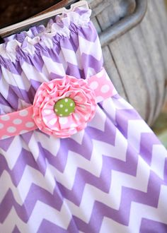 Infant Lilac Chevron Strapless Baby Bubble by mudpuddlesdandelions, $30.00