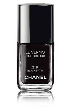 The only black nail polish you'll ever need.