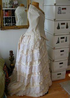 wedding dress by operafantomet,