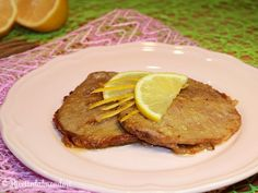 Scaloppine al Limone French Toast, Pork, Breakfast, Salads, Kale Stir Fry, Morning Coffee, Pork Chops