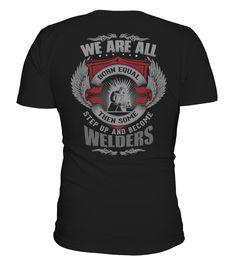 Schweißer Welder All-American Old Glory T-Shirt  #september #august #shirt #gift #ideas #photo #image #gift