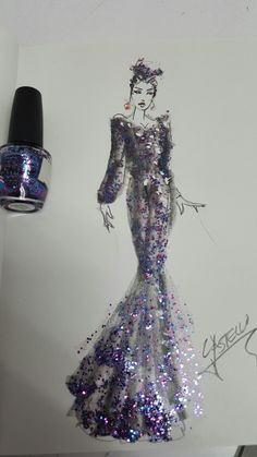 Lápiz / nail polish  Armando Castello