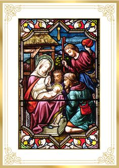 NATIVITY STAINED GLASS PATTERNS | Free Patterns