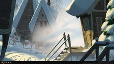 """Another bg from 'Klaus""""."""