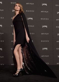 Cara Delevingne at the LACMA Art + Film Gala. See all of the model's best looks.