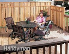 How to Build the Deck of Your Dreams | The Family Handyman