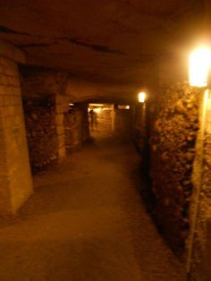Catacomb Shadow Figure Ghost - Paris, France