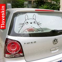 totoro car decal by Tloveskin on Etsy, $18.00 @Tessa McDaniel Witchger