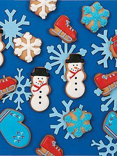 Eleni's New York Winter Wonderland Cookies