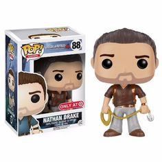 Funko Pop! Vinyl Nathan Drake Brown Shirt Uncharted Target Exclusive