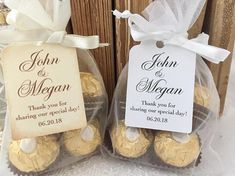 Personalized Wedding Favors Personalized Wedding Favor Bags
