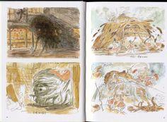 Spirited Away: 044 Miyazaki Spirited Away, Hayao Miyazaki, Spirit World, Fantasy Films, Losing A Child, Ova, Studio Ghibli, Book Art, Vintage World Maps