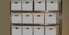 Our mobile shelving units are your file cabinets during trial. Your trial team will be organized and mobile for your trial. This system makes your team more efficient by reducing time searching for documents in an unorganized war room.