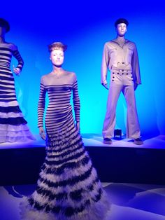 Jean Paul Gaultier exhibition at National Gallery Victoria 2015.