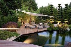 gestaltungsideen-garten-landschaftsbau-terrasse-lounge-teich - Wohnideen- Magazin für Innenarchitektur, Architektur, Dekoration