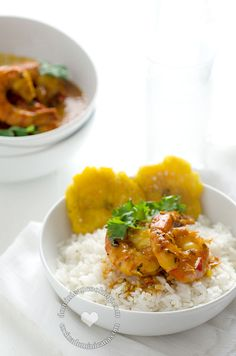 Shrimp with Coconut and Ginger Sauce Recipe