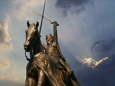 Wladyslaw Jagiello King of Poland - Grand Duke of Lithuania 1386 - 143Statue of King Jagiello, Central Park, NYC