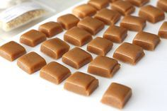 Cannabis Caramels-The perfect little treat that packs a punch! This sweet anddelicioustreat is super duper easy to make and only takes about 20 minutes. www.emarijuanarecipes.com