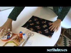 ▶ Manualidades: aprende a hacer una bolsa para el bebé - YouTube