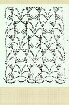 Grafico ponto Crochet
