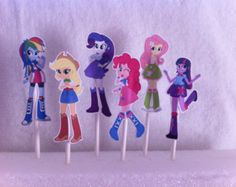 Equesteria Girl Ponies