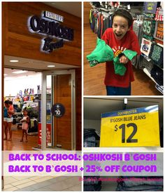Back to School: OshKosh B'Gosh Back to B'gosh + 25% Off Coupon | The Mama Maven Blog #BackToSchool