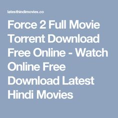 torrent download movies free online
