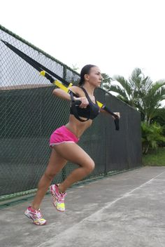 Fitness-workout Killer TRX training