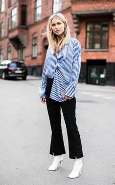 Check out the top street style looks from New York fashion week, courtesy of the photographer behind The Styleograph. Daily Fashion, Star Fashion, Look Fashion, Fashion Outfits, Fashion Black, Fashion Ideas, Copenhagen Fashion Week, Copenhagen Style, Street Style 2017