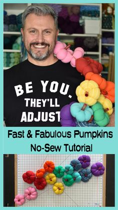 Halloween Sewing, Fabric Pumpkins, Feel Better, Stuff To Do, Sewing Crafts, Crafty, Holiday, Projects, Log Projects