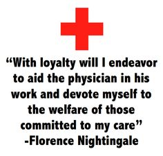 one line from Florence Nightingale's Nursing pledge