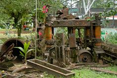 abandoned machinery photos - Google Search