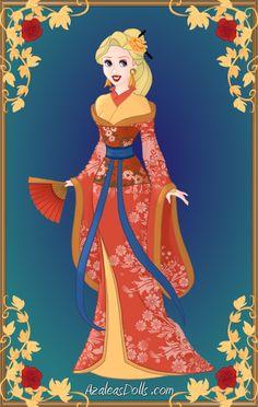 Siren Kimono by AngelOfBeauty88.deviantart.com on @deviantART