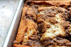 my mom's recipe for old fashioned coffee cake - the scent wakes up the family every time :)