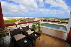 Lovely view from the balcony <3. At Golden Bear Lodge, Cap Cana, Dominican Republic